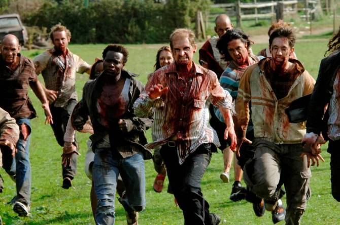 28 weeks later zombies